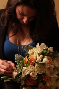 Action Shot Bouquet Detailing - Ashley Plainos, Ashton Creative