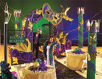 How to pull off a theme - Decoracion de carnaval ...