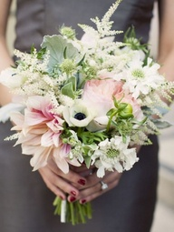 "Combined with a mix of other flowers astilbe is a great accents for a ""wildflower"" look."