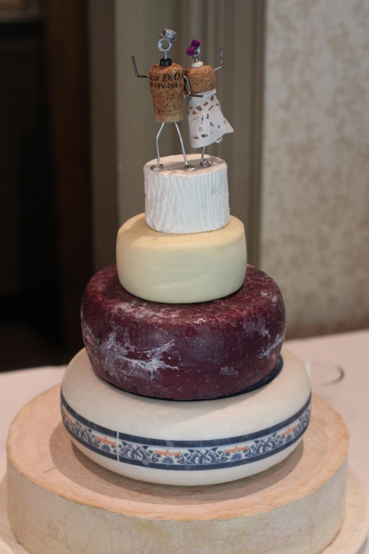 A literal cheese cake!
