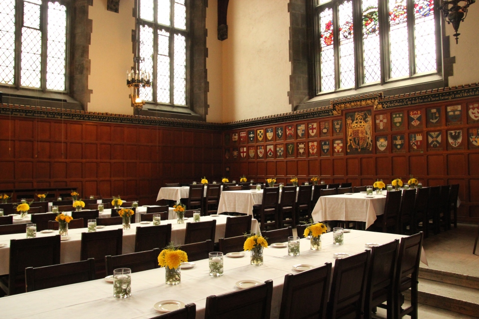 The Great Hall of Hart House, U of T