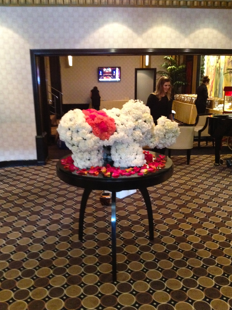 Floral Elephant at Eglinton Grand