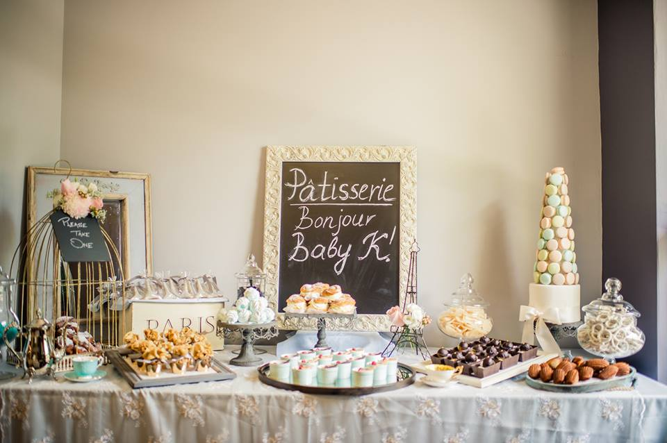 Parisian Themed Sweet Table