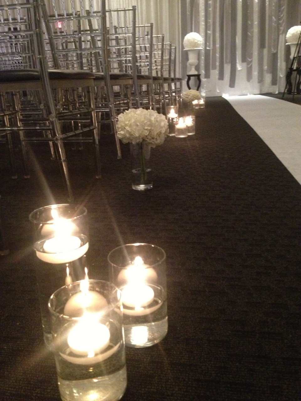 Aisle Decor at The Grand Luxe