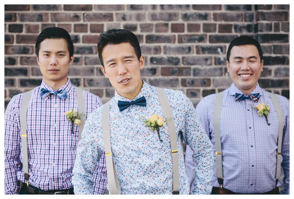 Blue Steel Groom and Groomsmen