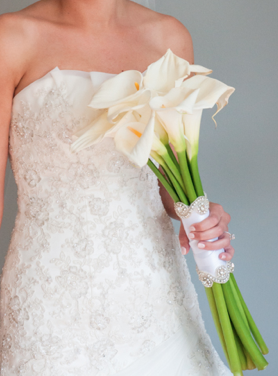 White Calla Lily Bouquet