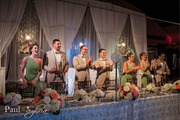 Bridal Party at Head Table - Palais Royale