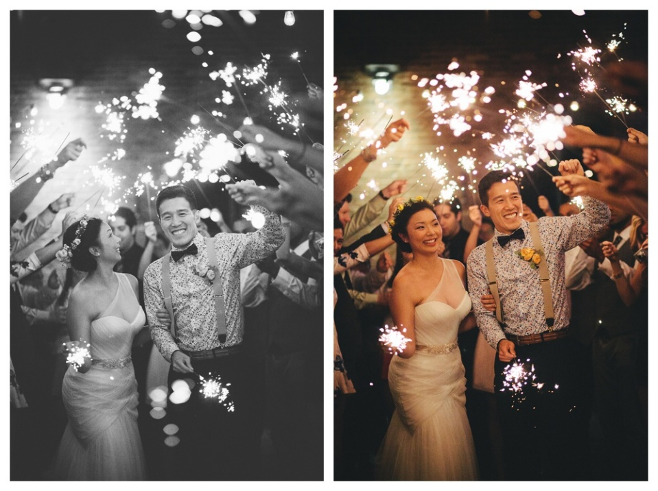 Sparklers with Guests