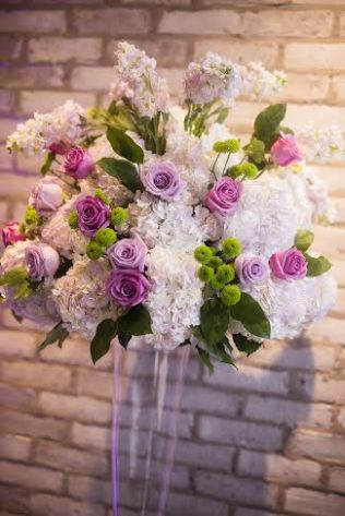 Lavender and Green Altar Flowers - Arcadian Loft