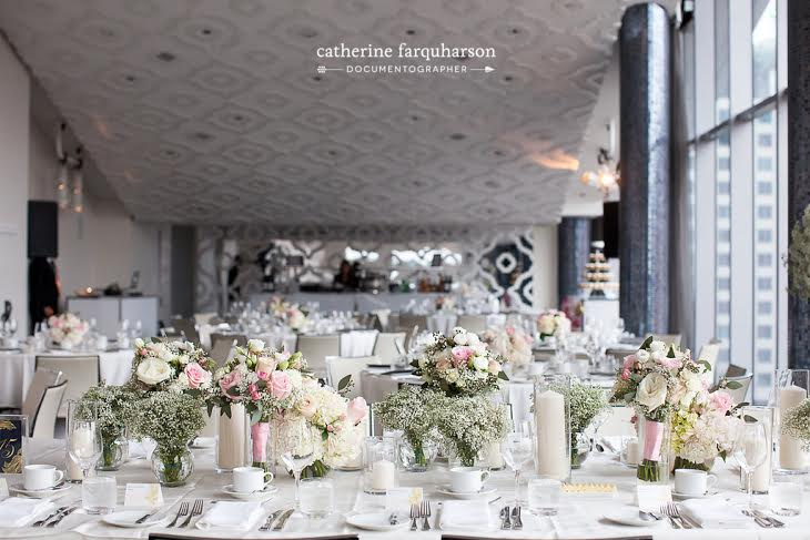 Head Table Flowers - Malaparte