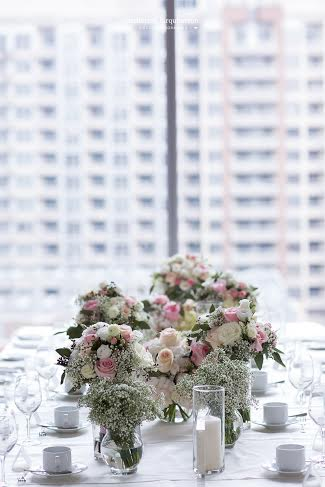 Malaparte Head Table Flowers