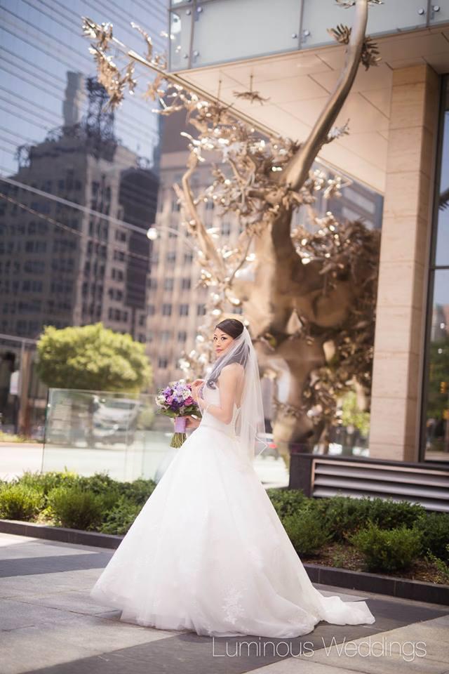 Downtown Toronto Bridal Shoot