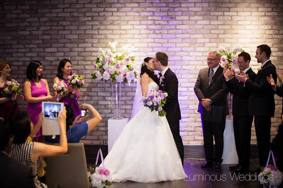 Ceremony Flowers at Arcadian Loft