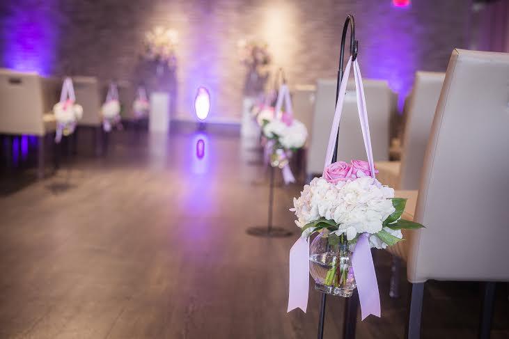 Lavender Aisle Flowers at Arcadian Loft