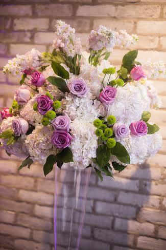 Lavender, Green and White Altar Flowers - Arcadian Loft