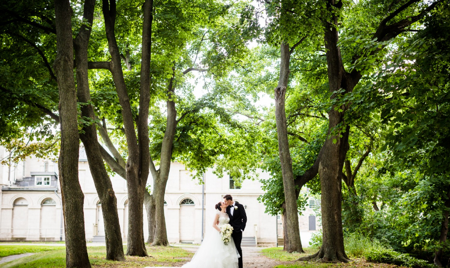 Alyssa & Greg Wedding Portrait - Dundurn Castle