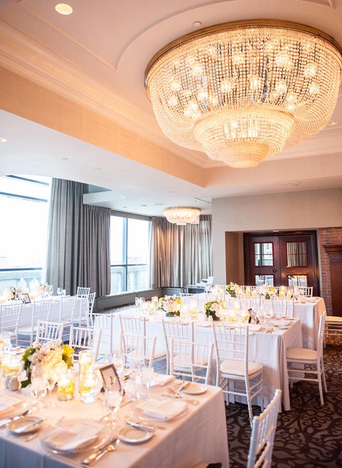 Reception Setup at Park Hyatt Toronto