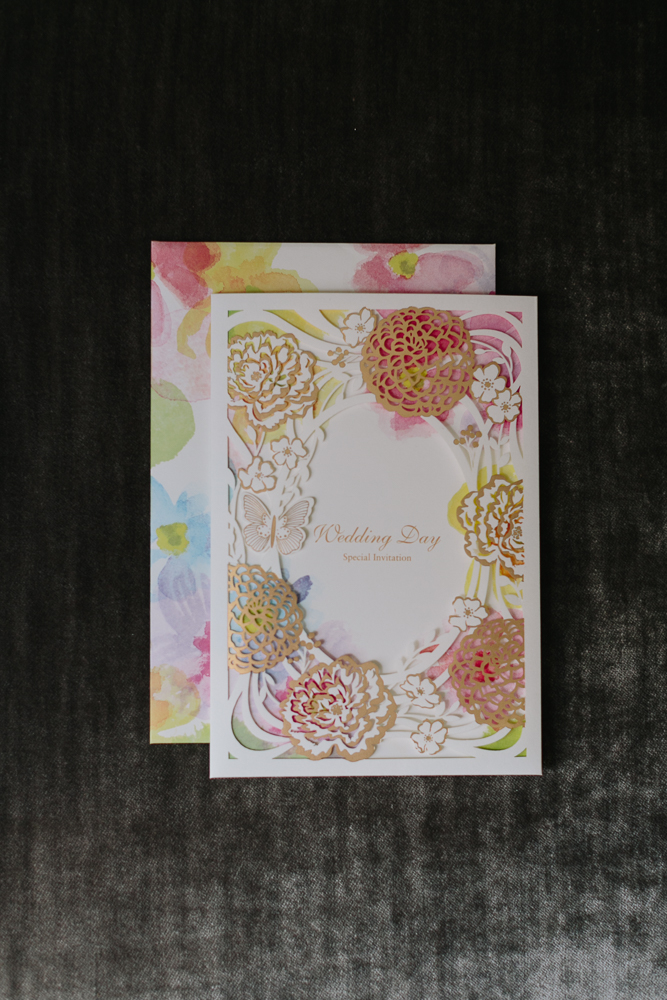 Water Colour and Gold Stationary