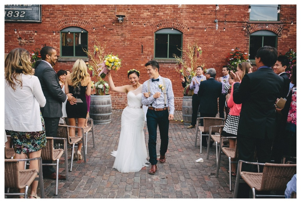 Wedding Ceremony - Archeo Distillery District