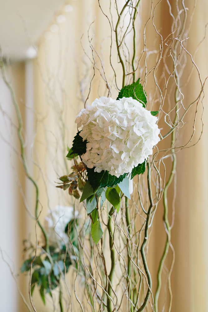 Wired Hydrangea Detail - Rosewater Room
