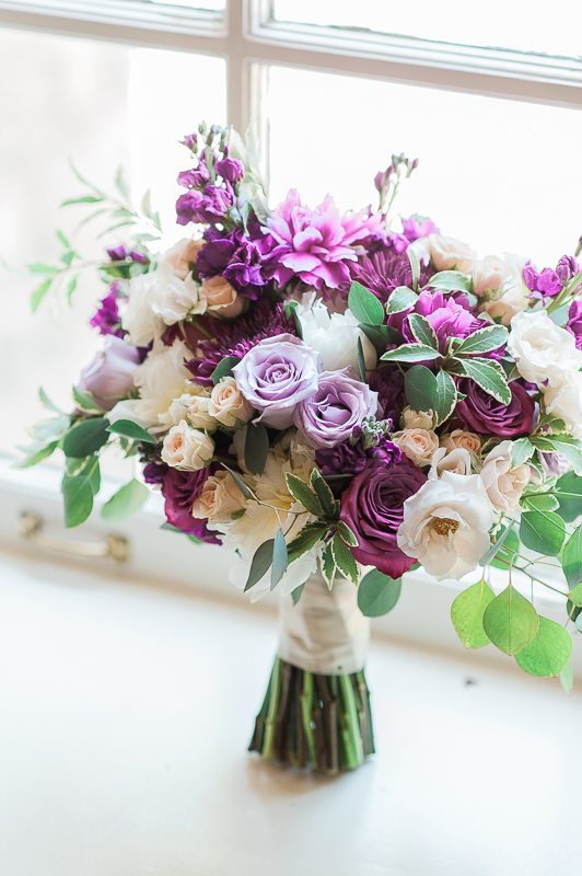 Purple Botanical Bouquet
