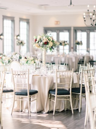 Tall Botanical Centerpieces